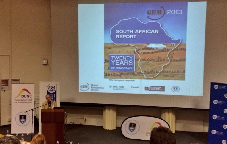 How many entrepreneurs are there in South Africa? – Reflections on the launch of the South African 2013 GEM Report