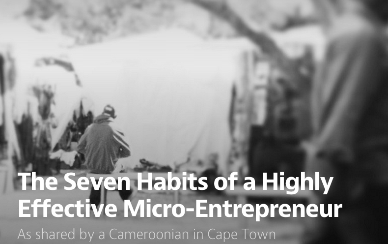 The Seven Habits of a Highly Effective Micro-Entrepreneur by Dinika Govender