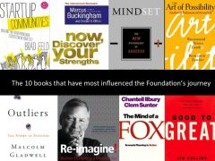 The 10 books that have most influenced the Foundation's journey