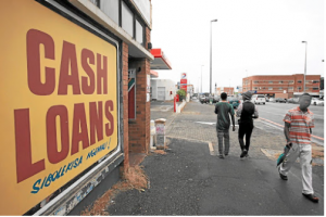 Borrowing sorrow: SA has a poor savings culture, with only 33% of adults having any form of money stashed away. Statistics show that hire-purchase, credit-card and store-card debt are the biggest culprits when it comes to lower-income earners becoming debt-stressed. Picture: DAILY DISPATCH
