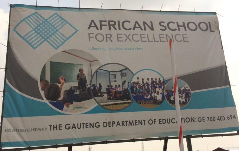 African Schools for Excellence – recovering a lost word in our education