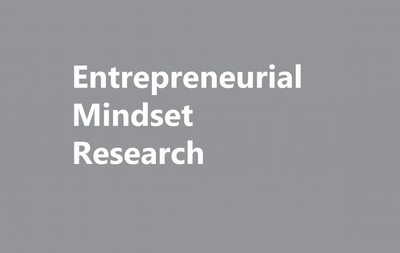 Entrepreneurial Mindset Research