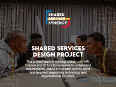 Shared Services Design Project Update