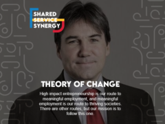 How will our move to shared services support the group theory of change?